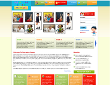 Private E-Learning / Educational Website & Corporate Identity Creation